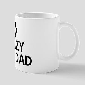 Crazy Dog Dad Mug