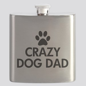 Crazy Dog Dad Flask