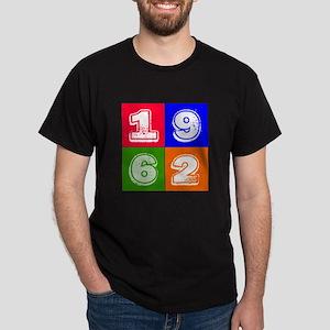 1962 Birthday Designs Dark T-Shirt