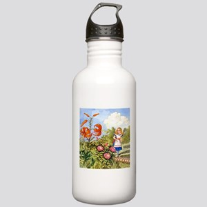 The Talking Flowers an Stainless Water Bottle 1.0L