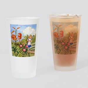The Talking Flowers and Alice in Wo Drinking Glass