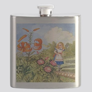 The Talking Flowers and Alice in Wonderland, Flask