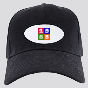 1965 Birthday Designs Black Cap