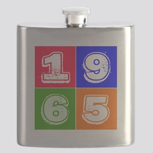 1965 Birthday Designs Flask