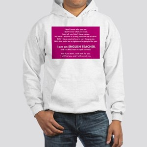 I Will Find You – Spell Properly Hooded Sweatshirt