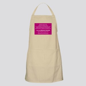 I Will Find You – Spell Properly Apron