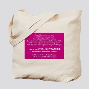 I Will Find You – Spell Properly Tote Bag
