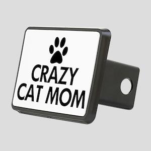 Crazy Cat Mom Rectangular Hitch Cover