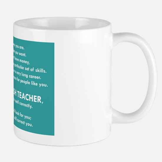 I Will Find You – Spell Properly Mugs
