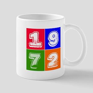 1972 Birthday Designs Mug