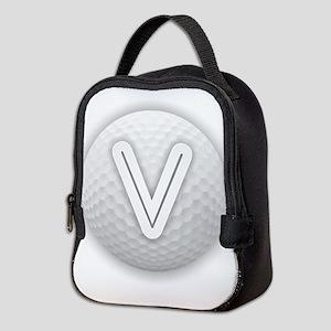 V Golf Ball - Monogram Golf Bal Neoprene Lunch Bag