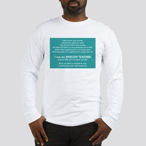 I Will Find You – Punctuation Long Sleeve T-Shirt
