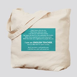 I Will Find You – Punctuation Tote Bag