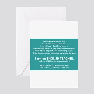 I Will Find You – Punctuation Greeting Cards