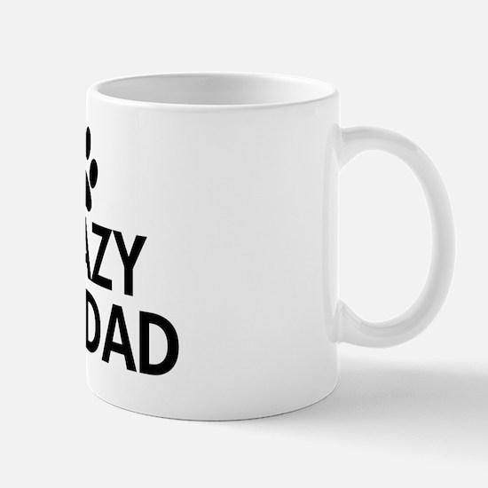 Crazy Cat Dad Mug