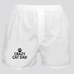 Crazy Cat Dad Boxer Shorts