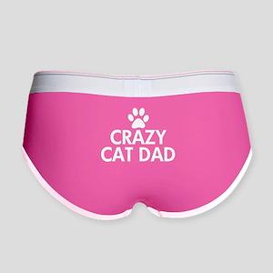 Crazy Cat Dad Women's Boy Brief