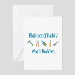 Blake - Work Buddies Greeting Card