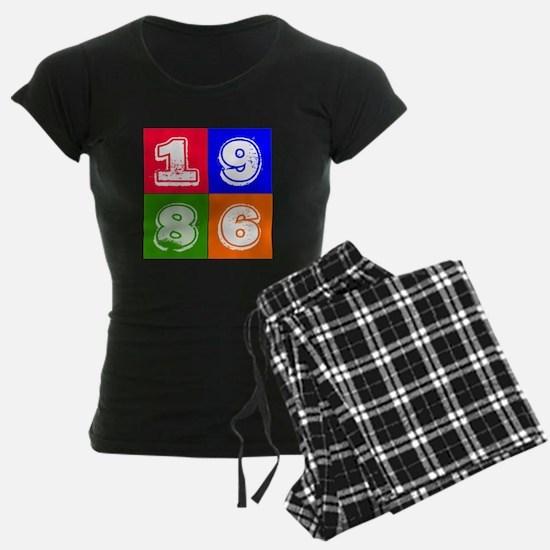 1986 Birthday Designs Pajamas