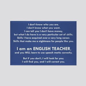 I Will Find You – Speech Marks Magnets
