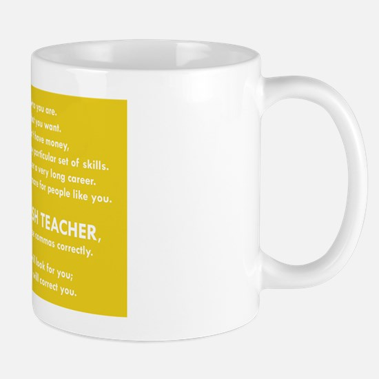 I Will Find You - Commas Mugs