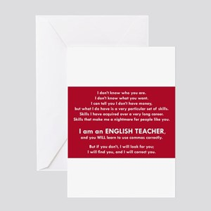 I Will Find You - Commas Greeting Cards