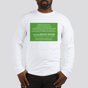 I Will Find You - Commas Long Sleeve T-Shirt