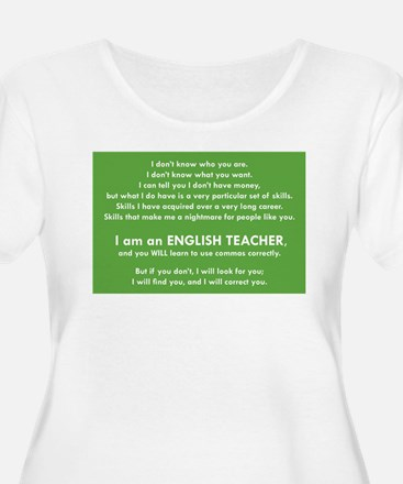 I Will Find You - Commas Plus Size T-Shirt
