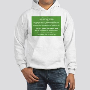 I Will Find You - Commas Hooded Sweatshirt