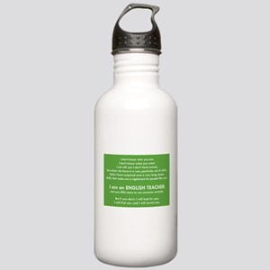 I Will Find You - Comm Stainless Water Bottle 1.0L