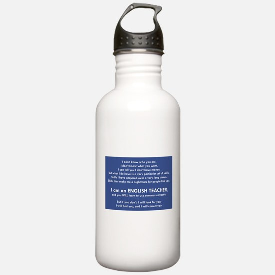 I Will Find You - Comm Water Bottle