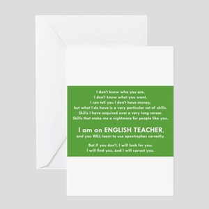 I Will Find You - Apostrophes Greeting Cards