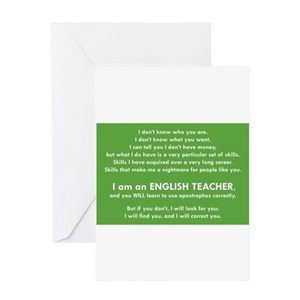 Bad grammar greeting cards cafepress m4hsunfo