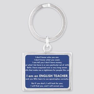 I Will Find You - Apostrophes Keychains