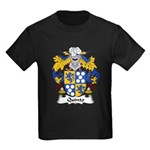 Quinto Family Crest Kids Dark T-Shirt