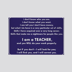 I Will Find You - You Will Do Your Work Pr Magnets