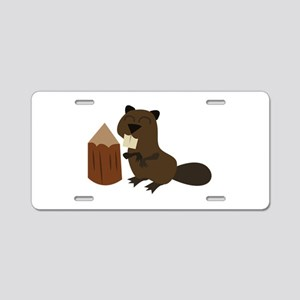 Beaver Aluminum License Plate