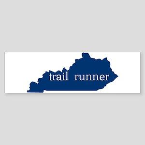 KY Trail Runner Bumper Sticker
