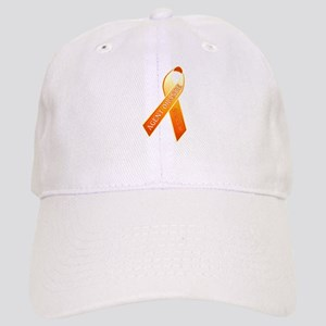 We Care Orange Ribbon Cap