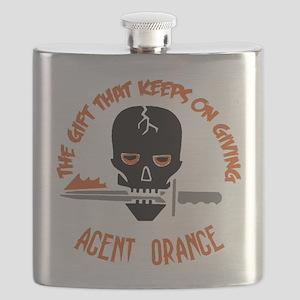 Agent Orange Flask