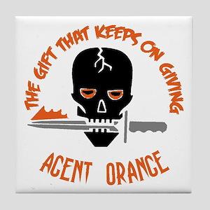 Agent Orange Tile Coaster