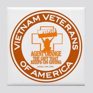VVA Orange Tile Coaster
