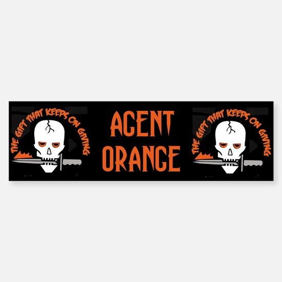 Agent Orange Sticker (Bumper)
