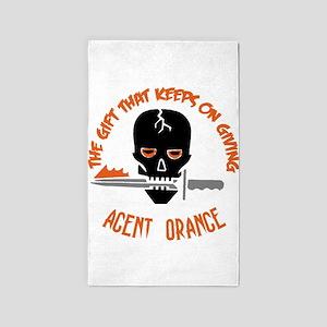 Agent Orange Area Rug