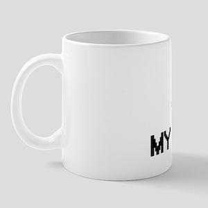 I Love My Landlady Mug