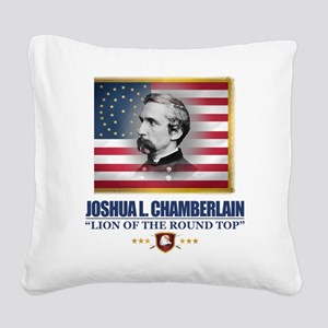 Chamberlain (C2) Square Canvas Pillow