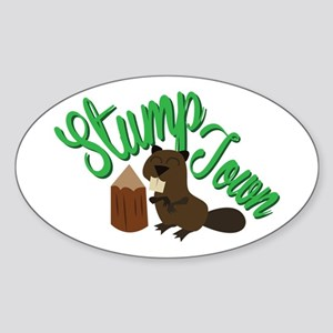 Stump Town Sticker