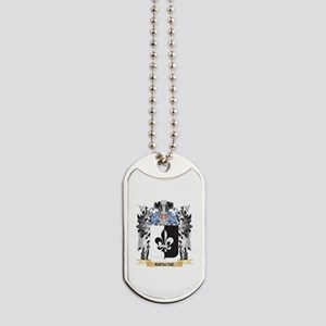 Krause Coat of Arms - Family Crest Dog Tags