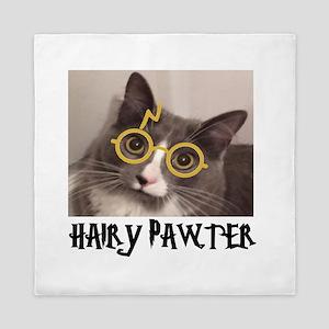 CATS - HAIRY PAWTER Queen Duvet