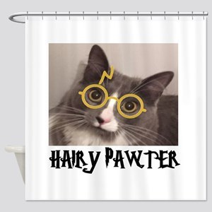 CATS - HAIRY PAWTER Shower Curtain